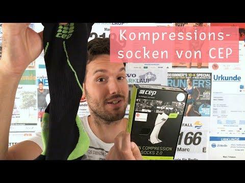 10in40 - E7 - Kompressionssocken von CEP und Zusammenfassung