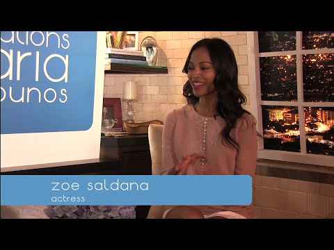 Conversations with Maria Menounos - Zoe Saldana...