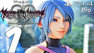 Kingdom Hearts 2.8 HD - Gameplay Walkthrough Part 1 - Full Game (PS4 PRO) A Fragmentary Passage BBS