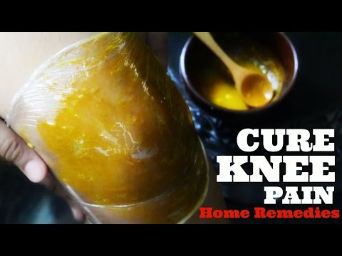 Video 5 Ayurvedic Home Remedies to cure KNEE PAIN