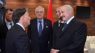 Лукашенко встретился с президентом Международной ассоциации легкоатлетических федераций