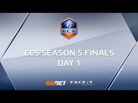 ECS Season 5 Finals | Day 1