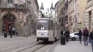 Trams in Lviv (tramwaje we Lwowie)