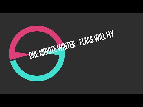 [Eleanor Forte/Luka] One Minute Winter - Flags Will Fly [ALPHA-OMEGA 900/HALLOWEEN]
