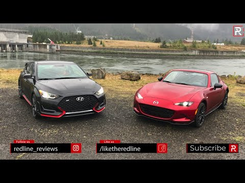 The Mazda MX-5 Miata & Hyundai Veloster N Are Two Completely Different Sports Cars for Under 30k