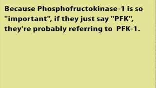 Glycolysis PFK-1 Crude Mnemonic Humor | Committed Step: Regulatory Phosphfructokinase