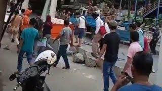 PKL Tanah Abang Menolak Ditertibkan, Ada Oknum Provokator yang Membuat Kericuhan