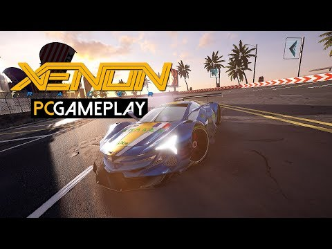 Gameplay de Xenon Racer
