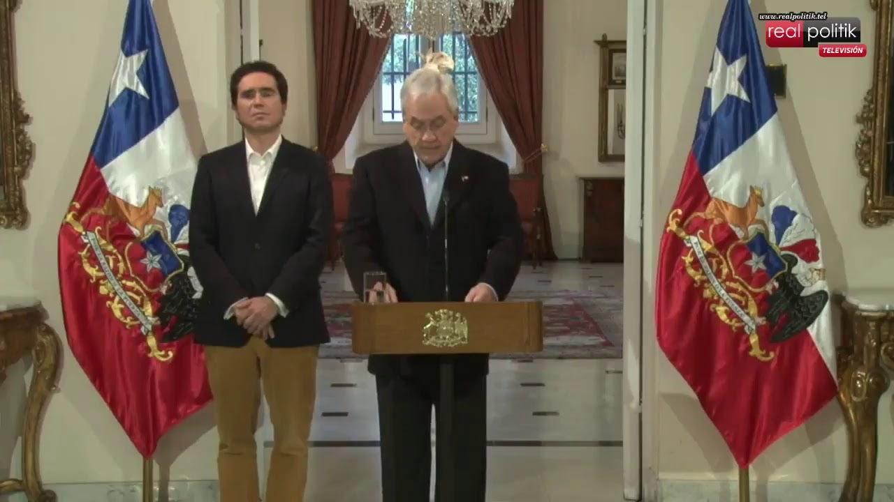 Chile: El presidente Sebastián Piñera anuncia nuevas medidas económicas