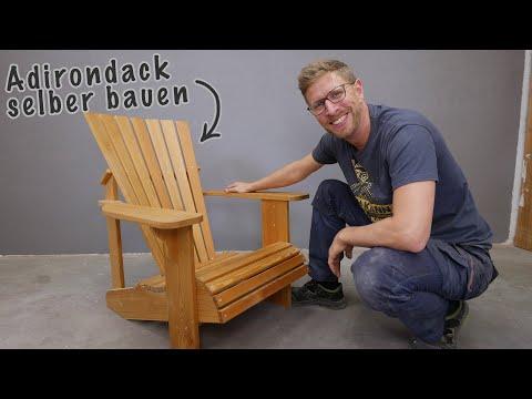 #2 Adirondack Gartenstühle selber bauen? |So gehts!
