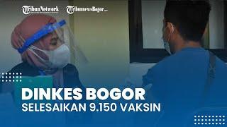 Dinas Kesehatan Kota Bogor Selesaikan 9.150 Vaksinasi Covid-19 yang Dialokasikan Provinsi Jawa Barat