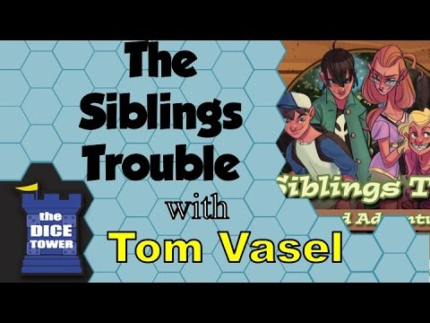 Dice Tower Reviews: The Siblings Trouble