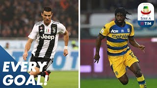 Ronaldo Breaks Another Record & Gervinho Super Solo Goal! | EVERY Goal | Round 12 |  Serie A