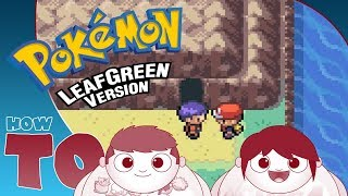 HOW TO ENTER CERULEAN CAVE | The Leaf Green & Fire Red Mewtwo Guide