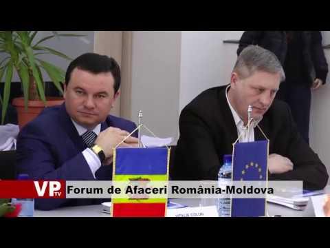 Forum de Afaceri România-Moldova