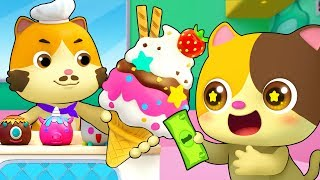 Magic Ice Cream Truck | Learn Colors, Numbers Song | Nursery Rhymes | Kids Songs | BabyBus