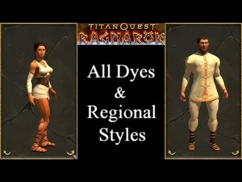 Where to buy regional black dyes? :: Titan Quest Anniversary