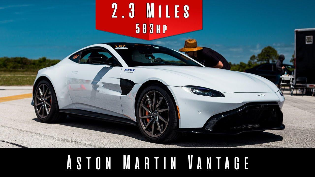英國紳士跑車 Aston Martin Vantage挑戰最高極速 你認為它能辦到嗎???[影片]   癮車報