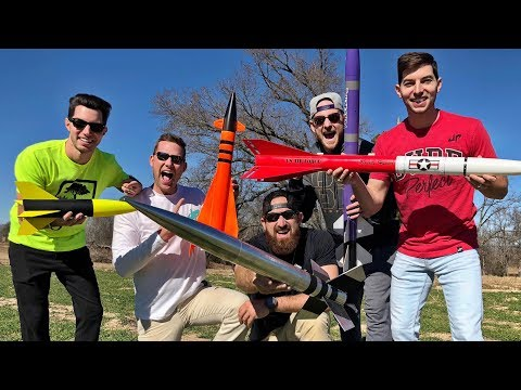 Pertarungan Model Roket | Dude Perfect