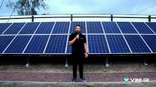 Сетевая солнечная электростанция для дома на 30 кВт  - Обзор от компании Винур
