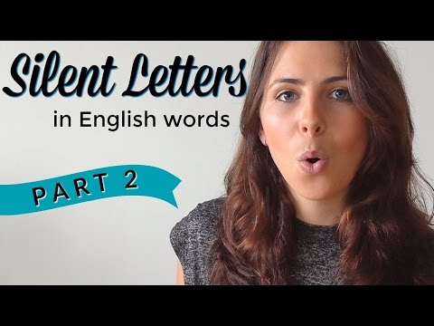 Silent Letters | English Pronunciation & Vocabulary | PART 2