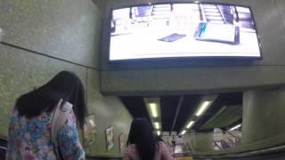 2016-03-06 On The Tube 1 (Timelapse), Hong Kong