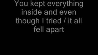 Linkin Park - In The End lyrics
