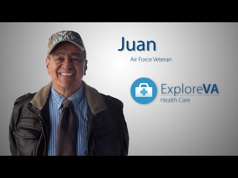 For Juan, VA health care is convenient; prescriptions are refilled by phone and arrive by mail.