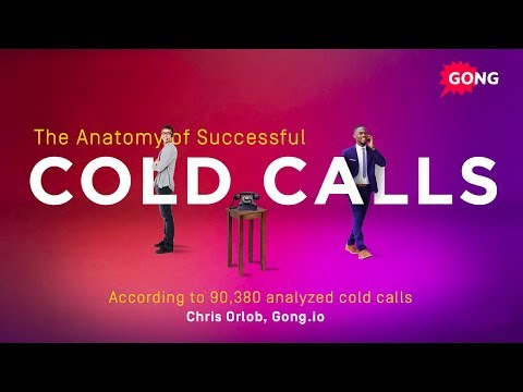 Cold Calling Tips: The Anatomy of Successful Cold Calls - YouTube