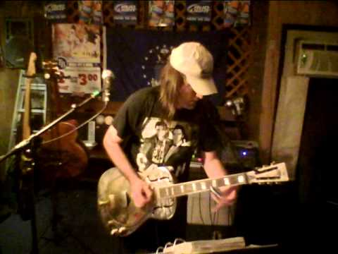 LOSE MY BLUES (BEN MEYER) LIVE AT MURPHY'S SPORTS BAR 5-18-2012 SLIDE GUITAR