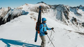 Skiing off a 13,000ft Mountain | A 12-hour day by Tamsin Danielle