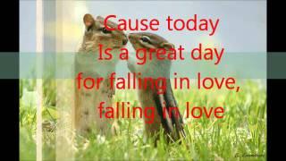 Taio Cruz-Falling in love (lyrics)