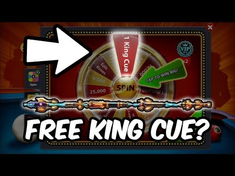 8 BALL POOL FREE KING CUE WTF??? + GETTING FREE BOXES
