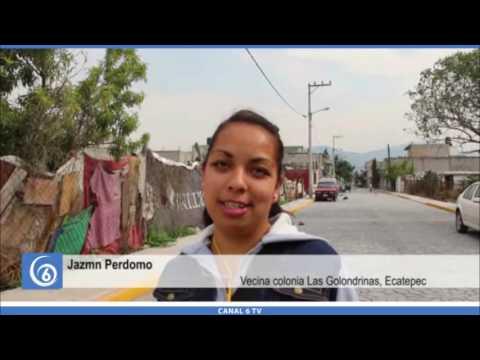Gestiones de Antorcha logran pavimentación de la calle Golondrinas en Ecatepec