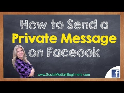 How to Send a Private Message on Facebook