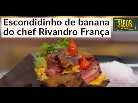 Escondidinho de Banana, receita do chef Rivandro França no Sabor da Gente