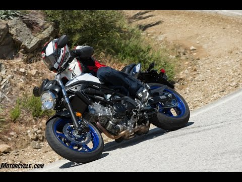 2017 Suzuki SV650 First Ride Review Video