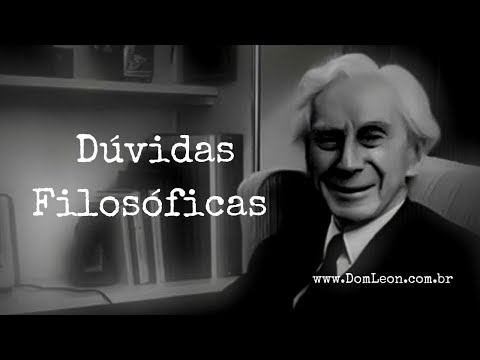 Audiobook, Bertrand Russel: Dúvidas Filosóficas