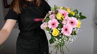 Video cu aranjamentul floral