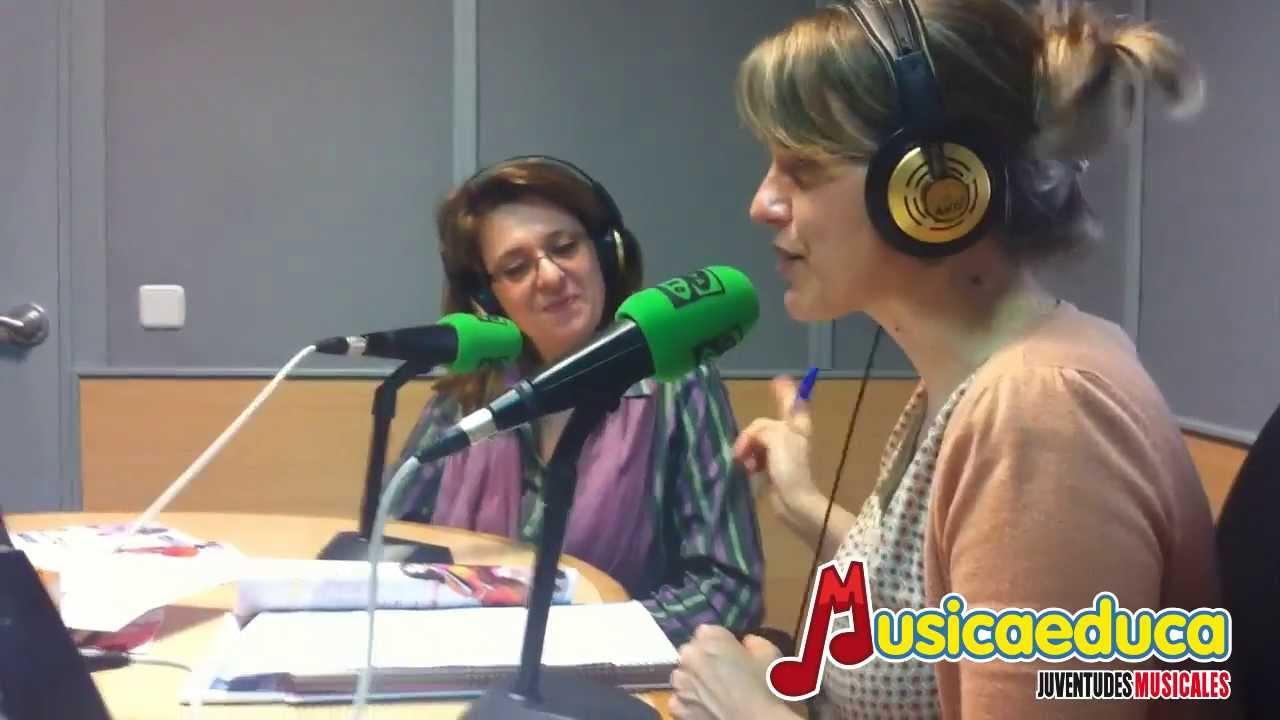 Entrevista a Eva Alonso, directora de Musicaeduca, en Onda Cero
