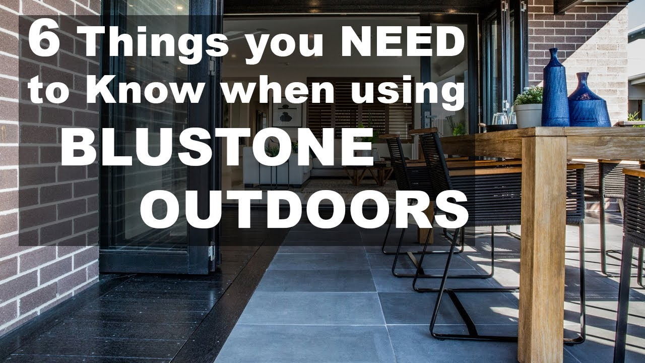 6 Things you Should know when using Bluestone Pavers Outdoors