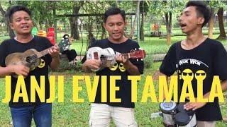 Janji Evie Tamala | Lagu Ini Padahal Lumayan Sedih | Tapi Di Bawaiin Trio Wok Wok Malah Jadi Lucu😂
