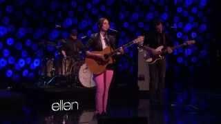 Sara Bareilles on Ellen - Let the Rain