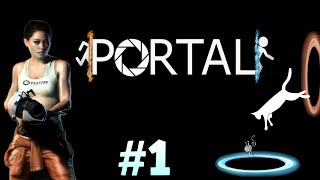 Portal - Rooms 1 to 10 - First Time Playing Portal