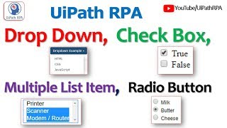 Array Variable in UiPath with example||UiPath RPA Tutorial - Самые