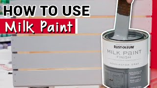 How To Use Rust-Oleum Milk Paint - Ace Hardware