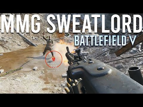 I became an MMG Sweatlord in Battlefield 5