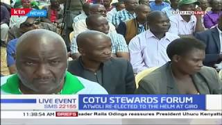 COTU Stewards Forum ongoing to deliberate on Labour Day agenda