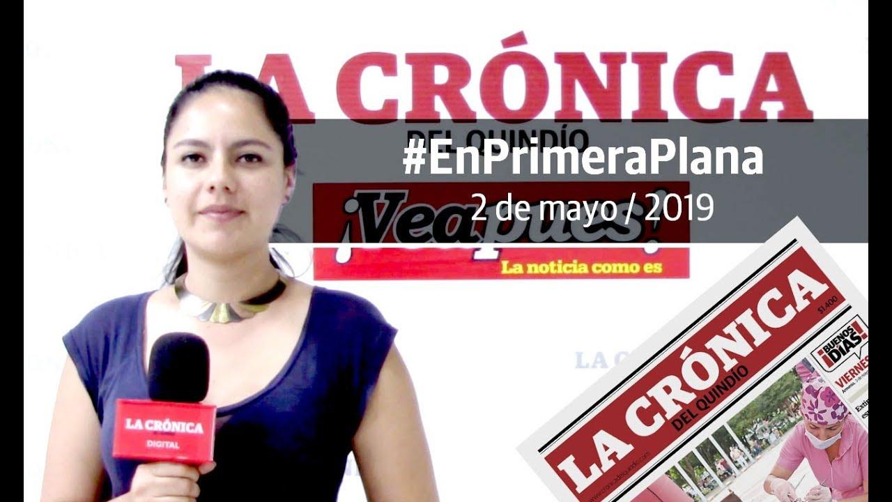 En Primera Plana: lo que será noticia este viernes 3 de mayo