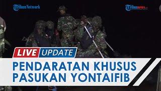 Situasi Latihan Pendaratan Khusus Pasukan Yontaifib Korps Marinir TNI AL di Belitung, Ditinjau KASAL